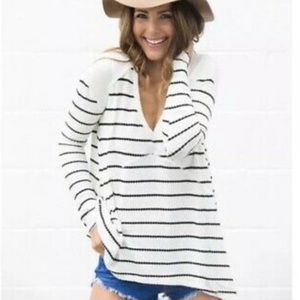 NEW LISTING❗️FREE PEOPLE Stripe Thermal